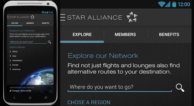 Star Alliance com Aplicação Navigator para Android - Ipressjournal 3f0374226090d