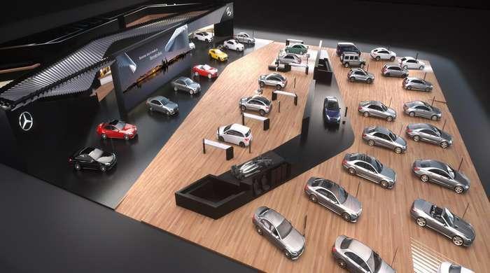 Mercedes-Benz e Smart no Salão Automóvel de Genebra 2016