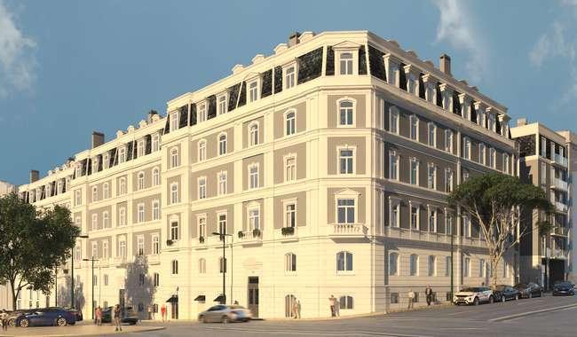 Sottomayor Residências habitação premium no Marquês de Pombal
