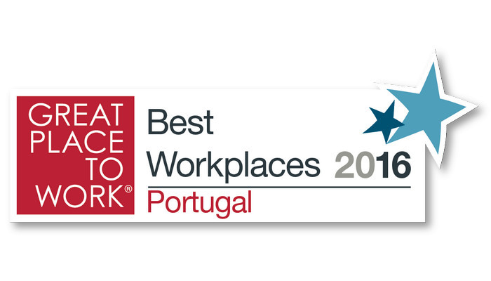 Empresas premiadas no Great Place to Work Portugal em 2016!