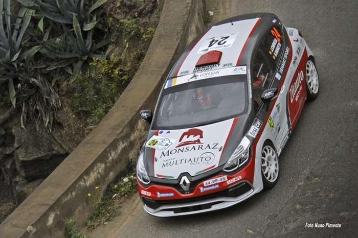 João Correia no Rally Villa de Adeje-Tenerife