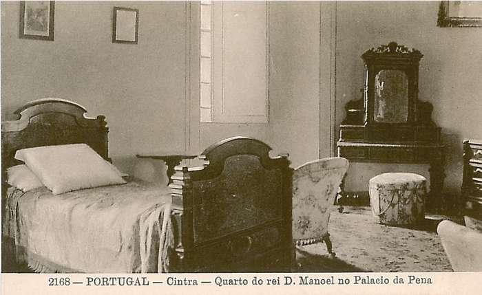 Postal original do Quarto do Rei D. Manuel | creditos_PSML _ab