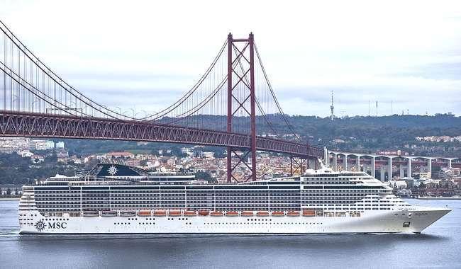 MSC Cruzeiros anuncia banda larga em toda a frota