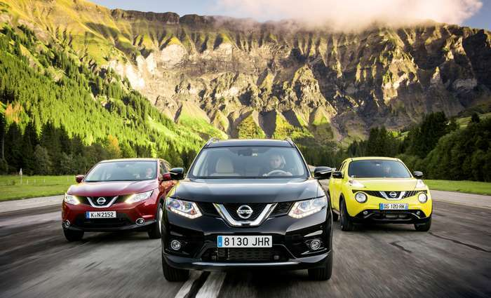 Nissan anunciou recorde de vendas na Europa Ocidental