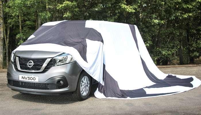 A Nissan divulga a primeira imagem do novíssimo NV300