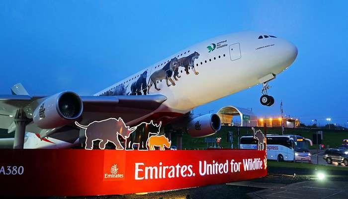 A380 - Emirates - United for Wildlife