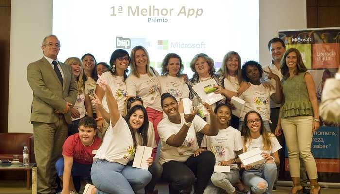 App criada por estudantes nos Final Awards em Londres