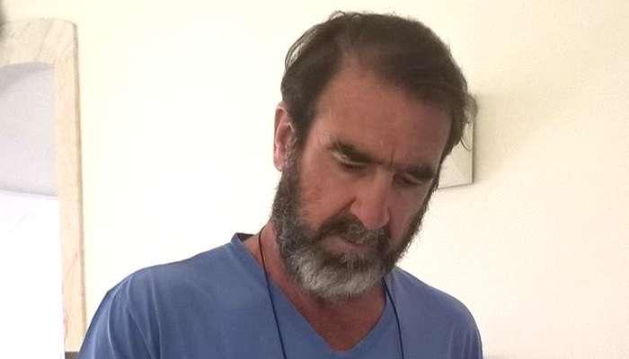 Eric Cantona em visita à cidade de Elvas