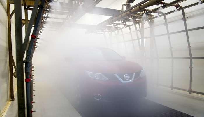 Nissan sujeita os crossover ao teste de estanquecidade