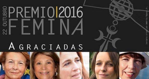 Prémio Femina 2016 distingue Notáveis Mulheres