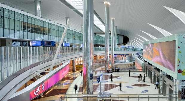Nova área Cl. Executiva da Emirates no Aeroporto do Dubai
