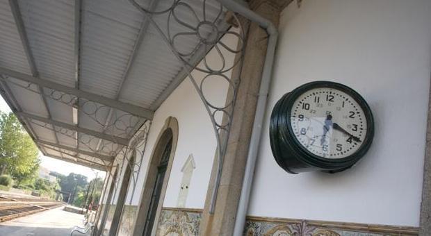 """Exposição """"O relógio na circulação dos comboios"""""""