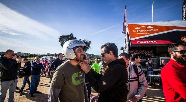 Nuno Matos foi o piloto do Road TT Solidário em Portalegre