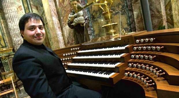 Tiago Ferreira no Festival de Órgão do Algarve em Tavira