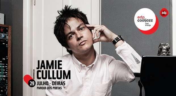 EDPCOOLJAZZ confirma Jamie Cullum para 2017