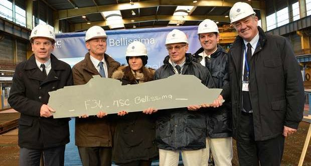 MSC Cruzeiros anuncia a construção do MSC Bellissima