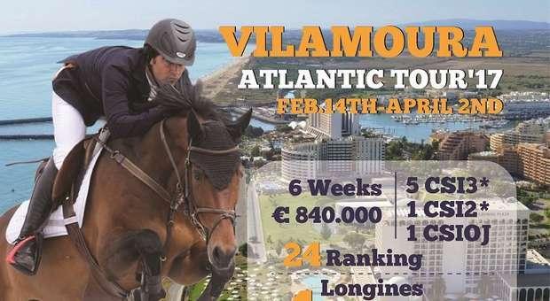 """Concurso hípico internacional """"Vilamoura Atlantic Tour"""""""