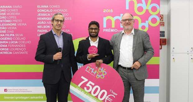 Prémio Inovação Ageas Seguros 2016 premiou três projetos