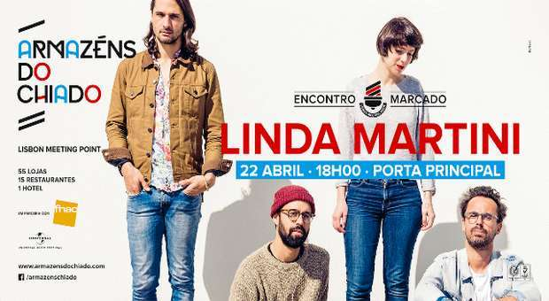 Novo vinil e Concerto dos Linda Martini no Chiado