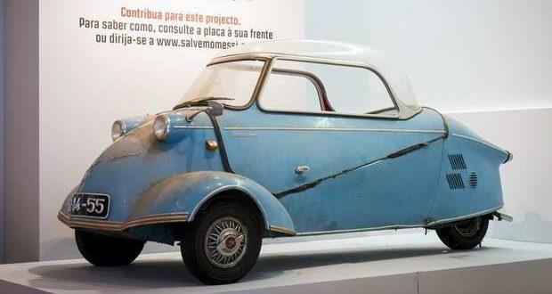 """""""Messi"""" KR200 de 1958 em exposição no Salão Motorclássico"""