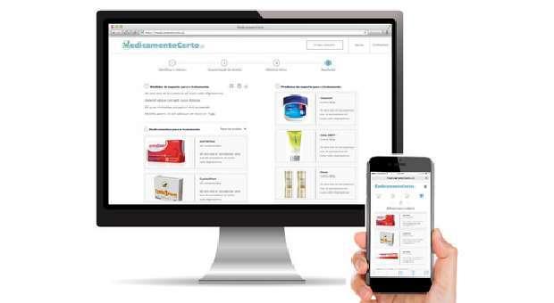 Pesquisas na internet sobre sintomas ou problemas de saúde