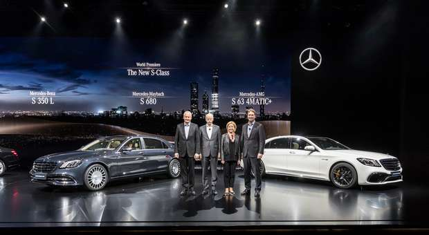 A Mercedes-Benz bate novo recorde de vendas em Abril