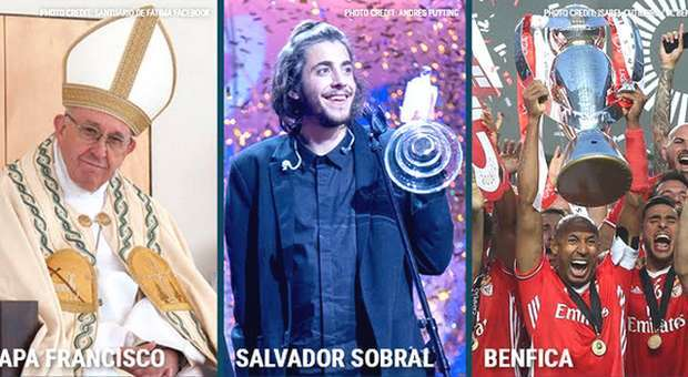Papa Francisco, Benfica e Salvador Sobral nos media