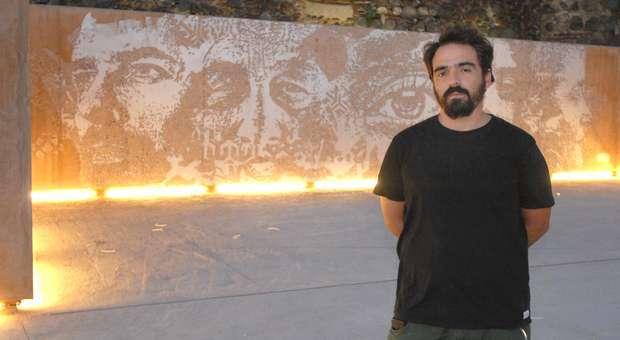 """Vhils expõe no Festival de arte urbana """"Beja na Rua"""""""