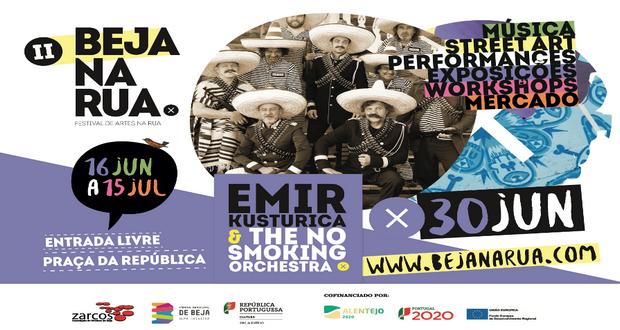 Emir Kusturica no Festival 'Beja na Rua'