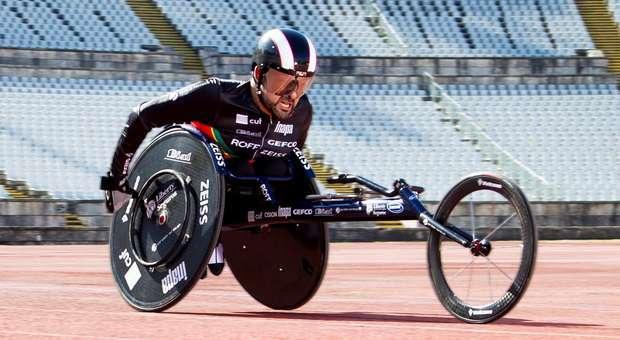 João Correia no Mundial de Atletismo em Londres