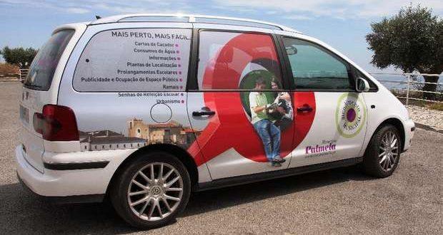 Loja Móvel assegura apoio aos munícipes de Palmela