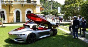 Renault TREZOR premiado no concurso de Villa d'Este