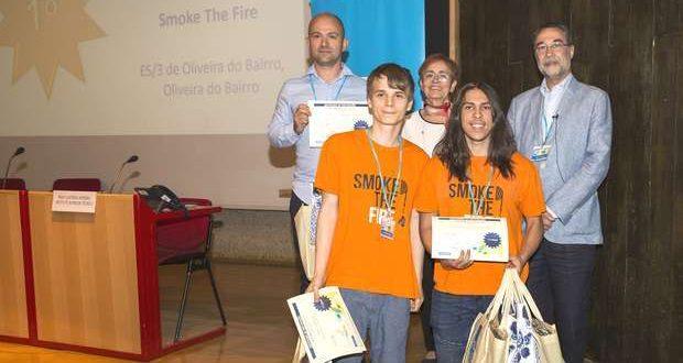 Alunos de Oliveira do Bairro criam detetor de incêndios florestais