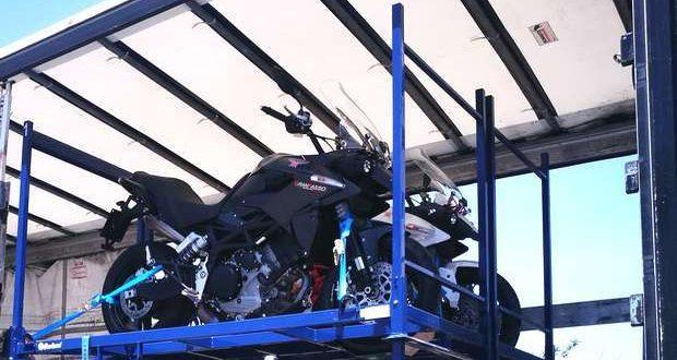 A Garland lança serviço de transporte de motas