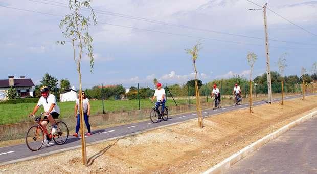 2.ª fase da ciclovia de Pinhal Novo com mais de dois quilómetros