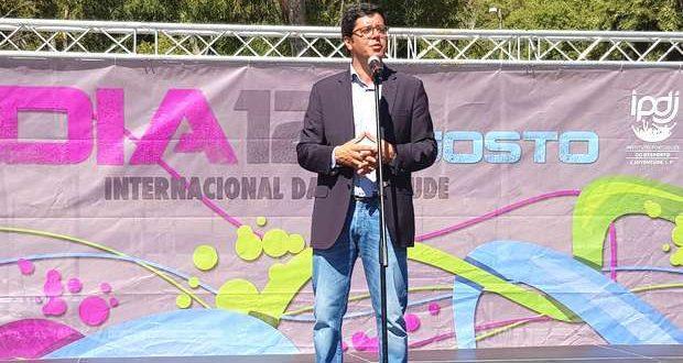 João Paulo Rebelo visitou o Jamor no Dia da Juventude