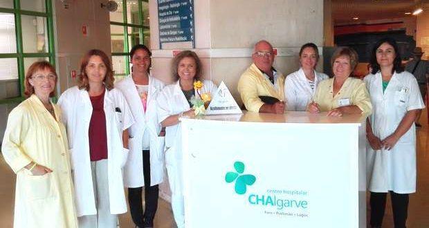 Serviço de acompanhamento no Hospital de Portimão