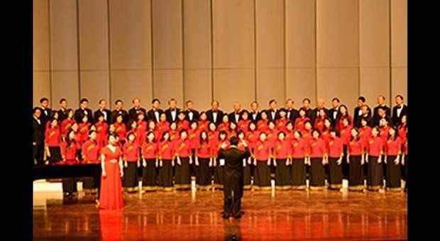 Grupo Coral Taiwan Chorus no Museu do Oriente
