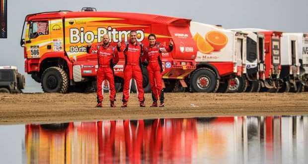 Elisabete Jacinto e equipa Bio-Ritmo® no Rallye Oilibya du Maroc