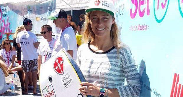 Joana Schenker é tetracampeã Europeia de Bodyboard