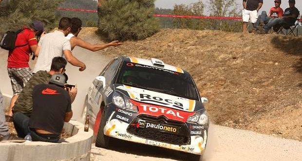 Paulo Neto e Vitor Hugo no podium de Mortágua