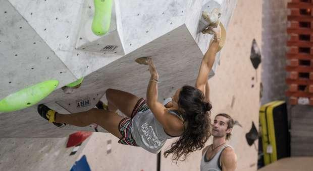 Vasco Campos e Rafaela Bastos triunfaram Taça de Portugal de Boulder