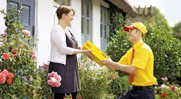 DHL Parcel serviço para envios e devoluções de e-commerce