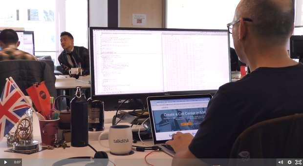 Talkdesk prepara-se para contratar mais 100 colaboradores