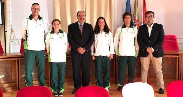 Atletas de Faro nos Campeonatos do Mundo de Trampolim