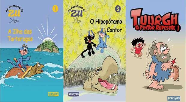 Procyon Editora lança livros infantis de José Antunes
