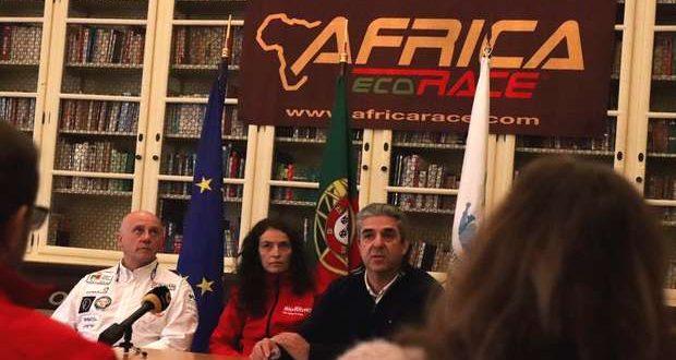 Elizabete Jacinto e João Rolo no Africa Race 2018