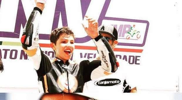 Kiko Maria no Salão de Motos de Competição em Esposende