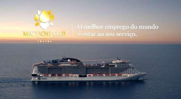 MSC Cruzeiros lança nova campanha MSC Yacht Club
