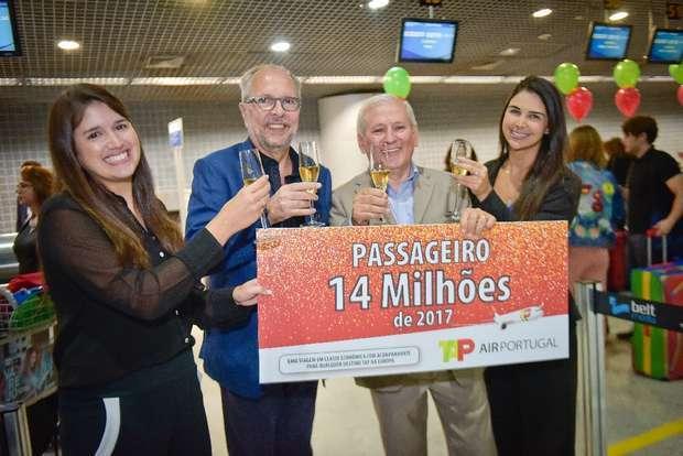 TAP transportou 14 milhões de passageiros em 2017